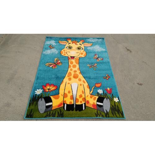 Covor Pentru Copii, Kolibri Girafa 11112, 80x150 cm, 2300 gr/mp 1