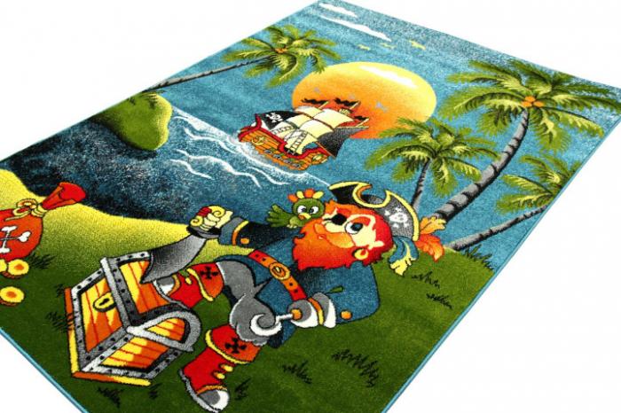 Covor Pentru Copii, Kolibri Pirate, 80x150 cm, 2300 gr/mp [1]