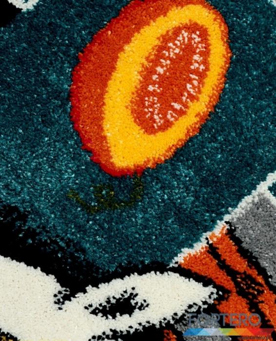 Covor Pentru Copii, Kolibri Sotron 11120, Gri, 80x150 cm, 2300 gr/mp [2]