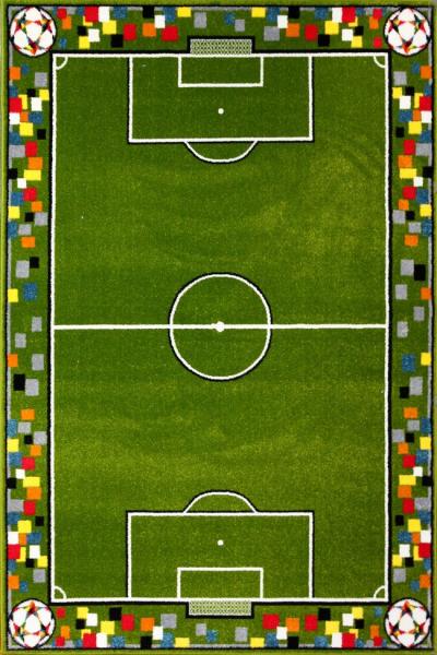 Covor Pentru Copii, Kolibri Teren Fotbal, 11118, 80x150 cm, 2300 gr/mp [0]
