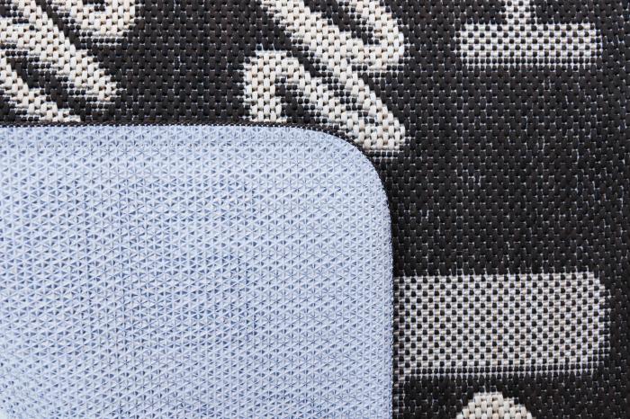 Covor Pentru Usa Intrare, Flex 19504-91, Antiderapant, Maro, 50x80 cm 1