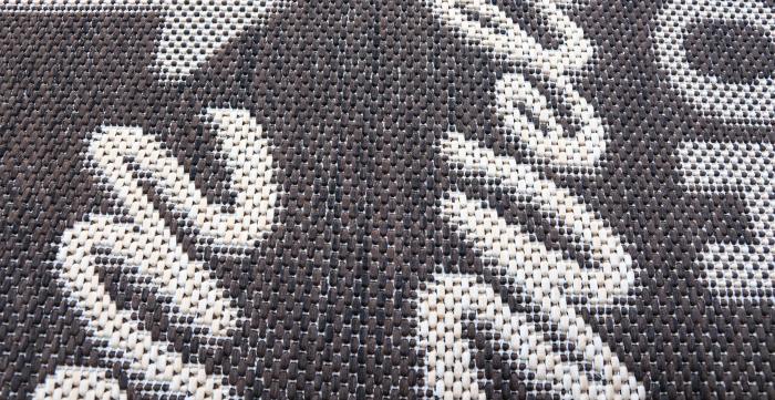 Covor Pentru Usa Intrare, Flex 19504-91, Antiderapant, Maro, 50x80 cm 2