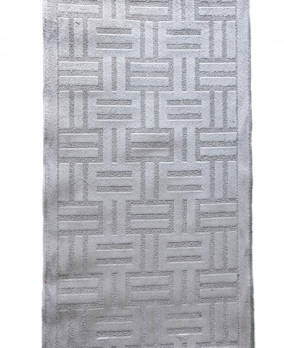 Traversa Antiderapanta Delta, 14047, Gri, 80x400 cm 1
