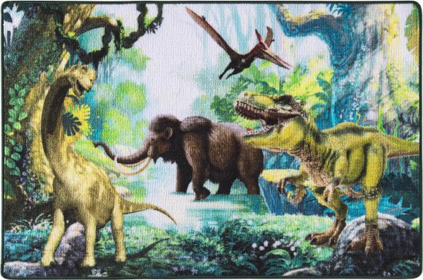 Covor Pentru Copii, Antiderapant, Dinosaur World, 1275 gr/mp [0]