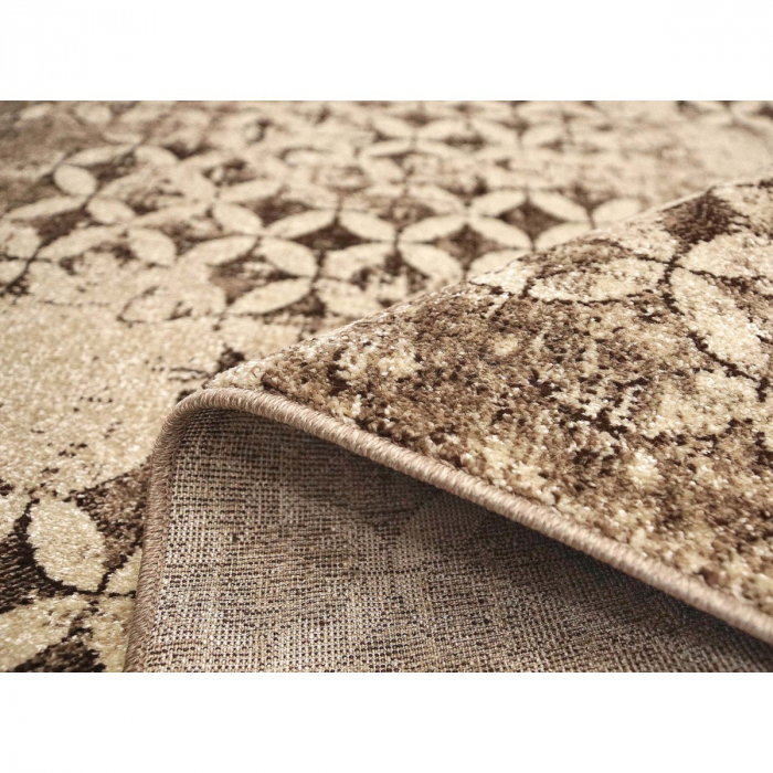 Covor Modern, Daffi 13156, Maro/Bej, 50x80 cm, 1700 gr/mp [1]