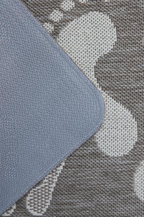Covor Pentru Usa Intrare, Flex 19613-111, Antiderapant, Maro/Bej, 50x80 cm [1]