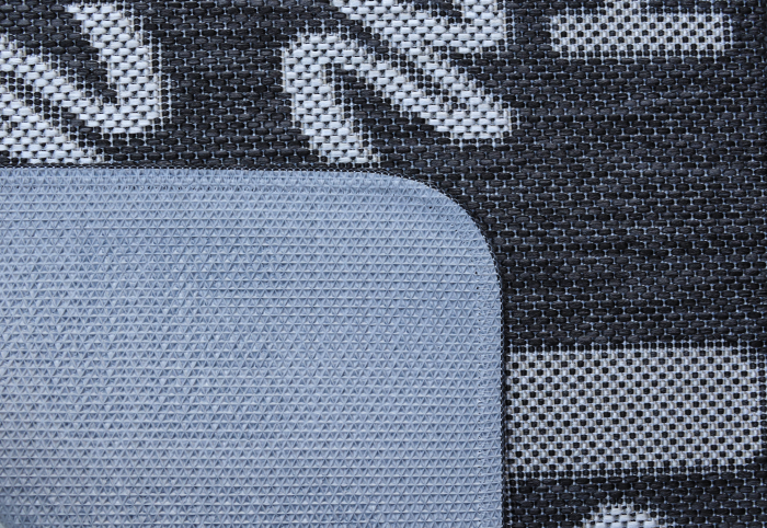 Covor Pentru Usa Intrare, Flex 19504-80, Antiderapant, Gri, 50x80 cm 1