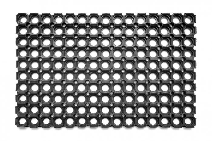 Covor Antiderapant Pentru Intrare, Domino 16, Negru, 50x80 cm [0]
