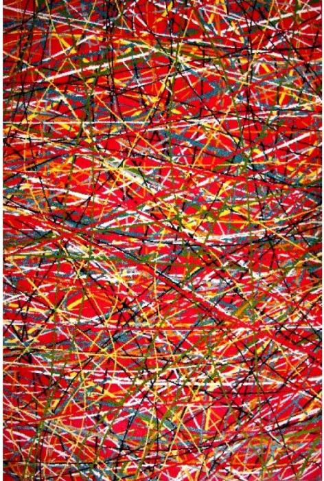 Covor Modern, Kolibri Art, Rosu, 80x150 cm, 2300 gr/mp 0