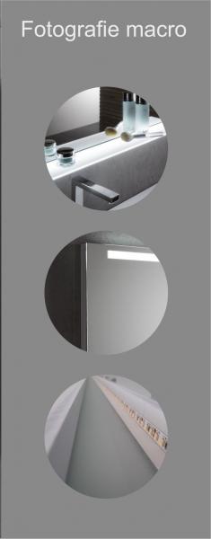 Oglinda cu Iluminare si Polita Iluminata, GenesIs, 800x1000x4 mm [5]