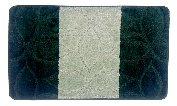 Set 2 covorase baie Erdek Hunter Green, 60x100 cm, 50x60 cm 1