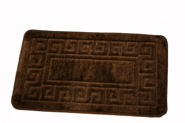 Set 2 covorase baie Ethnic Brown, 50x80 cm, 40x50 cm 0