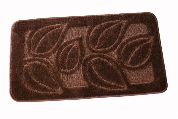 Set 2 covorase baie Flora Brown, 60x100 cm, 50x60 cm [0]