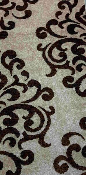 Traversa Covor, Cappuccino 16028-118, Bej / Maro, 60x600 cm, 1700 gr/mp 1