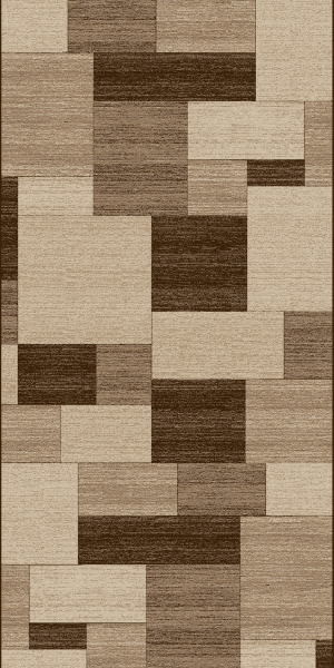 Traversa Covor, Daffi 13027-140,  Bej/Maro, 100x400 cm, 1700 gr/mp 0