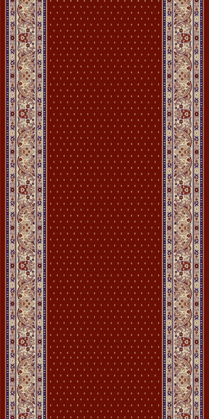 Traversa Covor, Lotos 588, Rosu, 60x700 cm, 1800 gr/mp 0