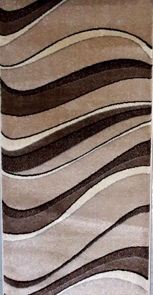 Traversa Daffi 13001-120, Bej / Maro, 80x300 cm, 1700 gr/mp 1