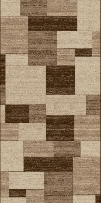 Traversa Covor, Daffi 13027-140, Bej/Maro, 60x300 cm, 1700 gr/mp 0