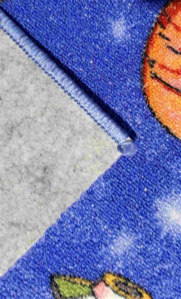 Traversa pentru Copii, Cosmos 1126, Albastru, 100x300 cm, 820 gr/mp 4
