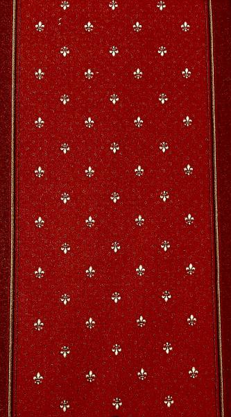 Traversa Tesatura Plata 1835, Rosu, 100x600 cm, 820 gr/mp 7
