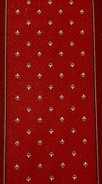 Traversa Tesatura Plata 1835, Rosu, 100x700 cm, 820 gr/mp 0