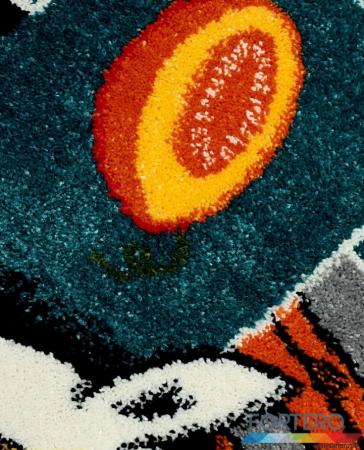 Covor Pentru Copii, Kolibri Sotron 11120, Gri, 240x340 cm, 2300 gr/mp [2]