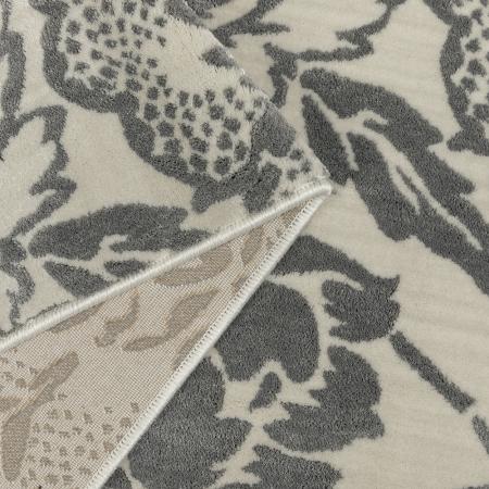 Covor Modern, Sofia Floral, Alb/Gri, Diverse Dimensiuni, 2450 gr/mp [2]