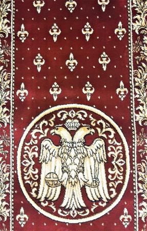 Traversa Covor, Lotos 15032, Rosu, Model Bisericesc, Latime 150 cm, Diverse Lungimi [4]