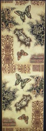 Traversa Covor, Lotos Fluturi 1607, Latime 100 cm, Diverse Lungimi, 1800 gr/mp [1]
