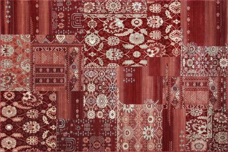 Covor Clasic, Cardinal 25509-210, Rosu Bordeaux, 80x150 cm, 2100 gr/mp [1]