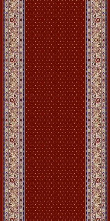 Traversa Covor, Lotos 588, Rosu, 1800 gr/mp [0]