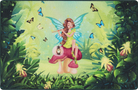Covor Pentru Copii, Antiderapant, Fairy Song, 133x190 cm, 1275 gr/mp0