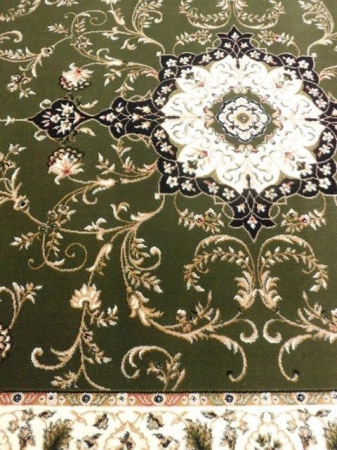 Covor Clasic, Lotos 523, Verde, 100x200 cm, 1800 gr/mp4