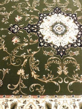 Covor Clasic, Lotos 523, Verde, Oval, 150x230 cm, 1800 gr/mp [1]