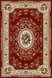 Covor Clasic Lotos 568, Rosu, 50x80 cm, 1800 gr/mp0