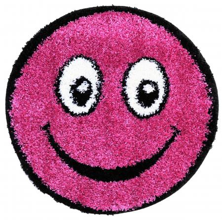 Covor Fantasy Smile, 12003-170, Rotund, Mov Deschis, 67x67 cm [0]