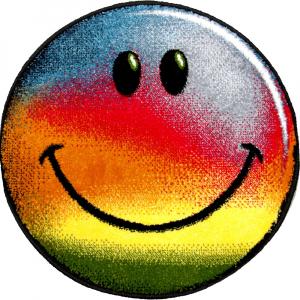 Covor Kolibri, Rotund, Rainbow Smile, 67x67 cm, 2300 gr/mp [0]