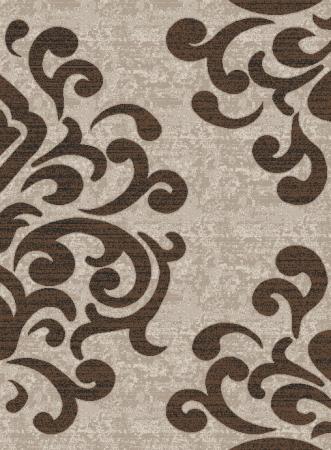 Covor Modern, Cappuccino 16028, Bej / Maro, 240x340 cm, 1700 gr/mp0