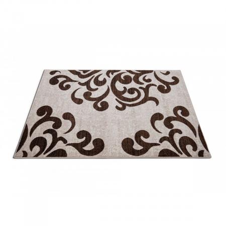 Covor Modern, Cappuccino 16028, Bej / Maro, 60x110 cm, 1700 gr/mp4