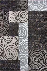 Covor Modern, Cappuccino 16413-111, Multicolor, 200x300 cm, 1700 gr/mp0