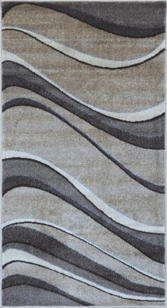 Covor Modern Daffi 13001-120, Bej / Maro, 100x200 cm, 1700 gr/mp [0]
