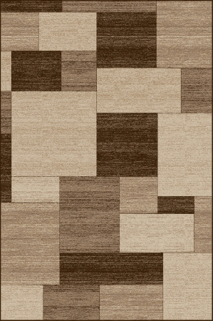 Covor Modern, Daffi 13027, Bej/Maro, 50x80 cm, 1700 gr/mp0