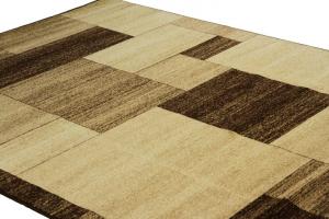 Covor Modern, Daffi 13027, Bej/Maro, 100x200 cm, 1700 gr/mp2