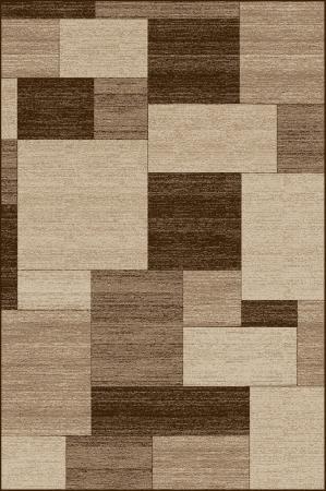 Covor Modern, Daffi 13027, Bej/Maro, 100x200 cm, 1700 gr/mp0