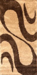 Covor Modern, Fantasy Bej, 12506-89, 100x200 cm, 2550 gr/mp [0]