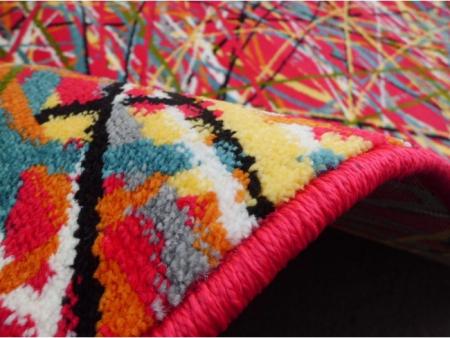Covor Modern, Kolibri Art, Rosu, 80x150 cm, 2300 gr/mp1