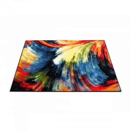 Covor Modern, Kolibri Brush 11017, Multicolor, 120x170 cm, 2300 gr/mp [2]