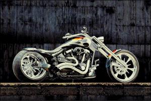 Covor Modern, Kolibri Motocicleta 11185, Multicolor, 120x170 cm, 2300 gr/mp0
