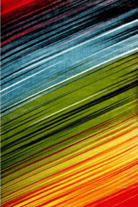 Covor Modern, Kolibri Multicolor 11009, 80x150 cm, 2300 gr/mp0