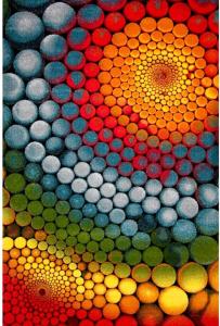Covor Modern, Kolibri Multicolor 11056, 80x150 cm, 2300 gr/mp0